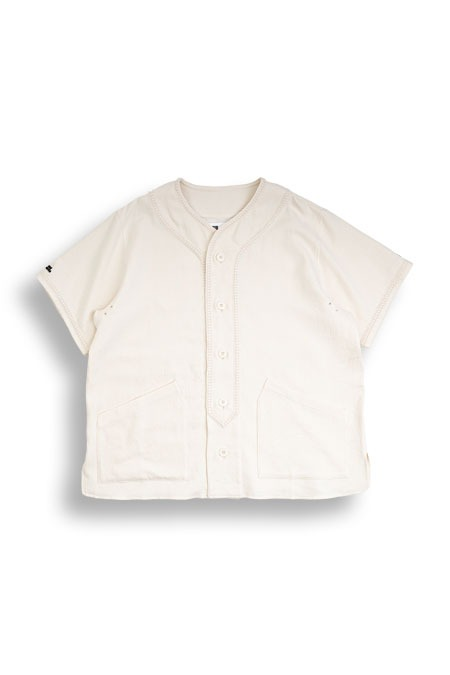 SOMEONE LIFE[썸원라이프]Lace Line Baseball Shirt