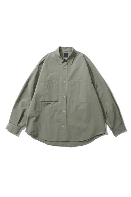 MOIF[모이프]Wide work shirt