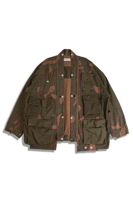 remake by yi [리메이크 바이 이]Multi Pockets Haori Jacket