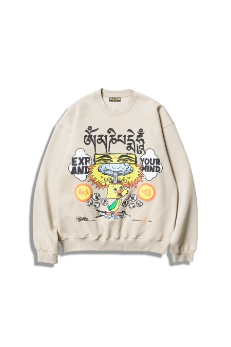 All But One[올벗원]ABO Expand Crewneck Sweat