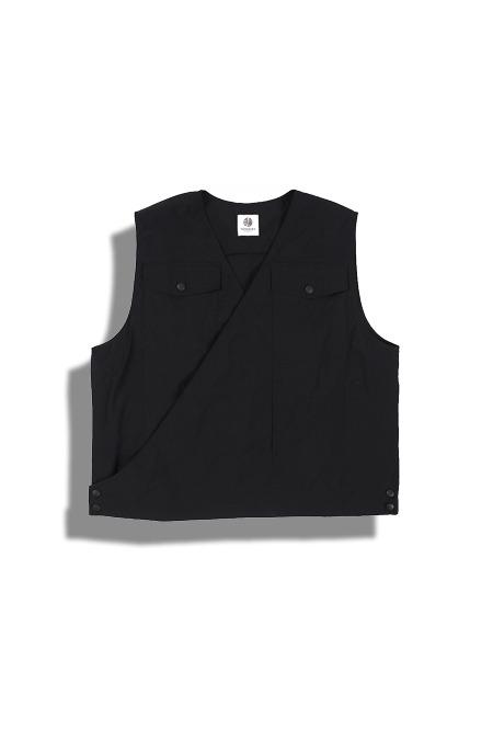 DARENIMO[다레니모]Black Line Double Vest