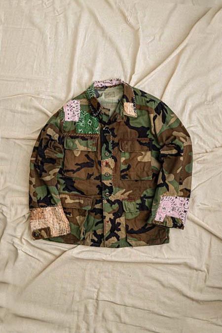 999PROJECT[999프로젝트]Sasiko Millitary Jacket