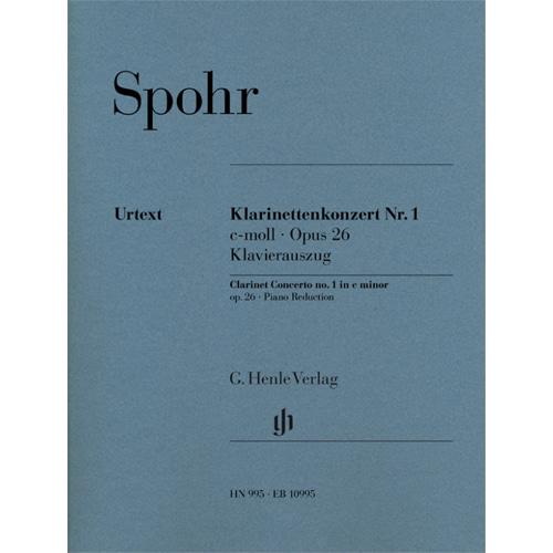슈포어 클라리넷 콘체르토 1번 C단조 op. 26