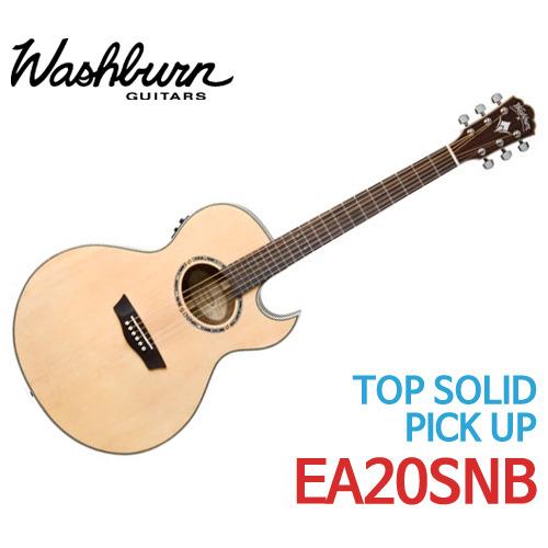 워시번 누노 베텐코트 시그네처 어쿠스틱 기타 EA20SNB - 기타렌탈, 기타대여