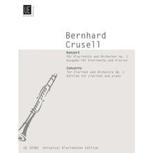 크루셀 클라리넷 콘체르토 No. 1 in E flat Major, Op. 1