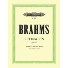 브람스 클라리넷 소나타 Op. 120 no. 1, no. 2