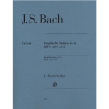 바흐 영국 모음곡 4-6, BWV 809-811