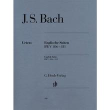 바흐 영국 모음곡 BWV 806-811 피아노 솔로 [HN100]