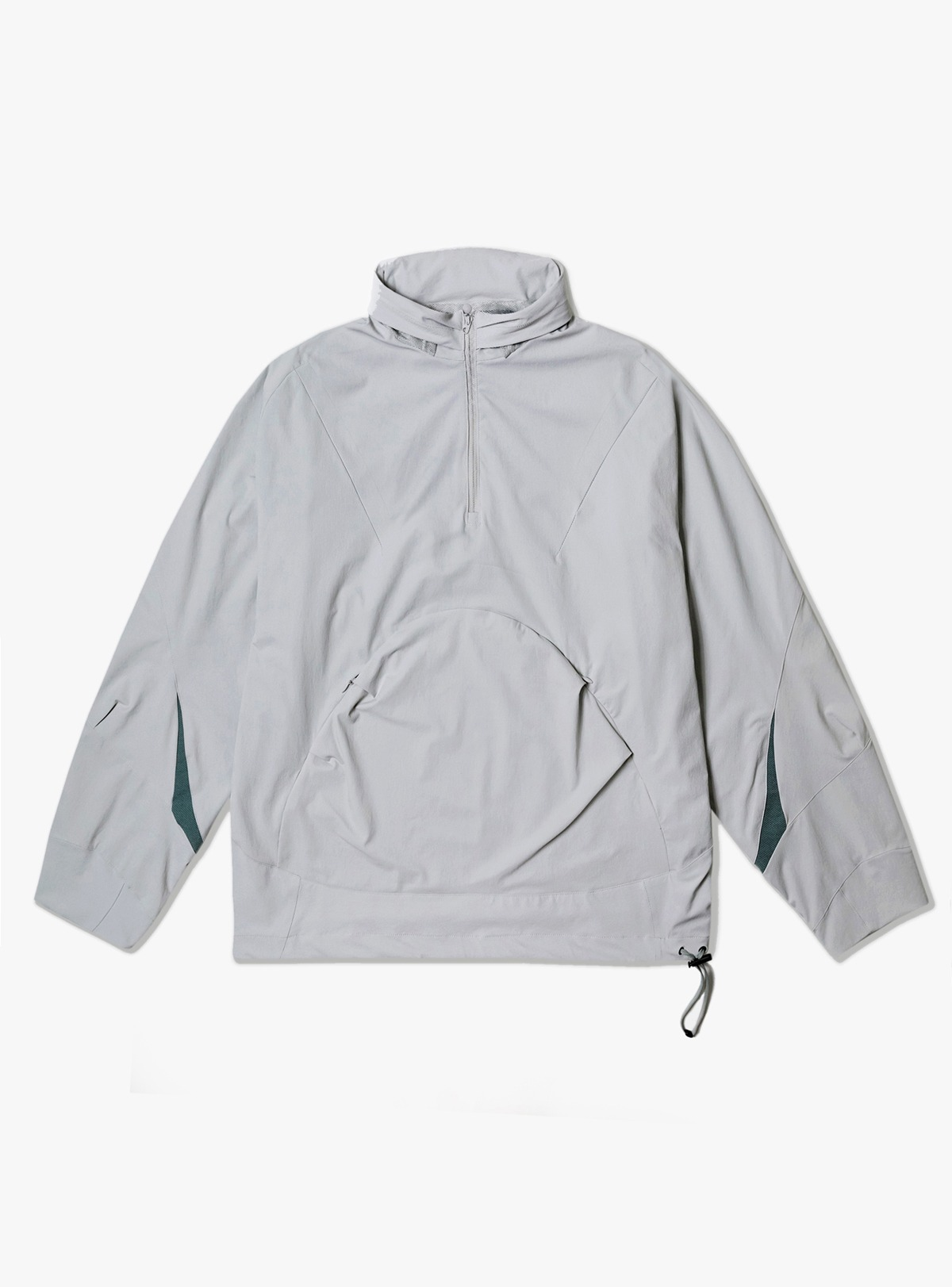 [ALL OVER LOGO HOODIE_BLACK/OFF WHITE]