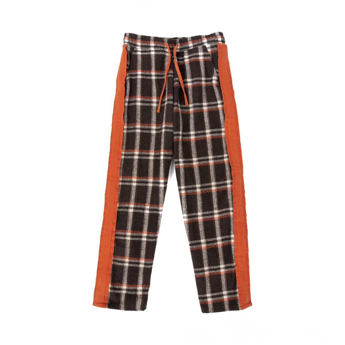 Cozy Check Pajamas (orange)