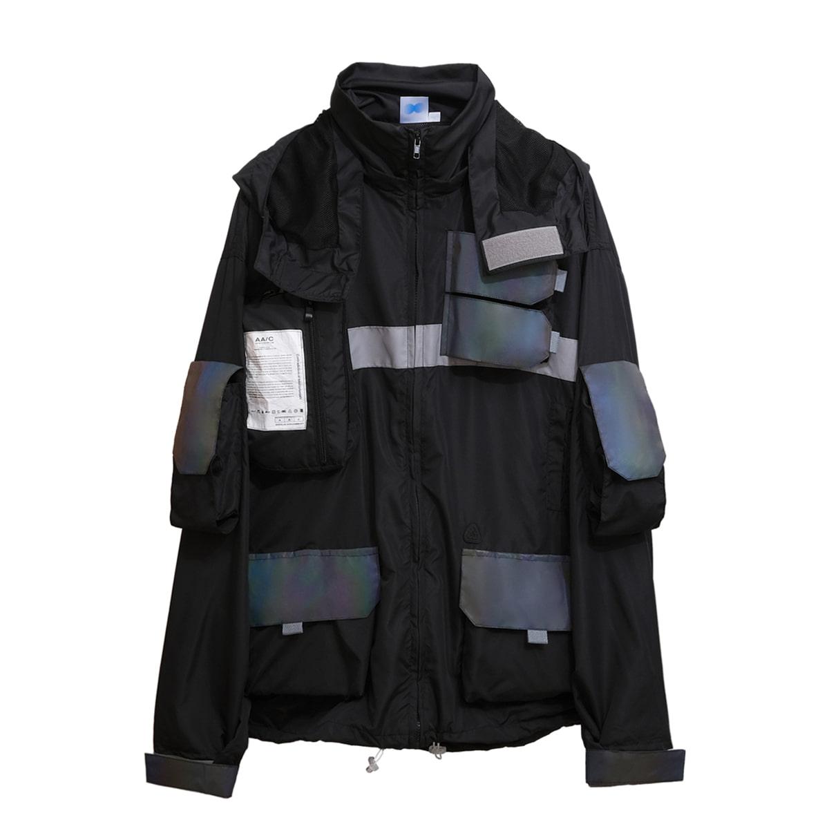 0.20 Hologram Smock Jacket