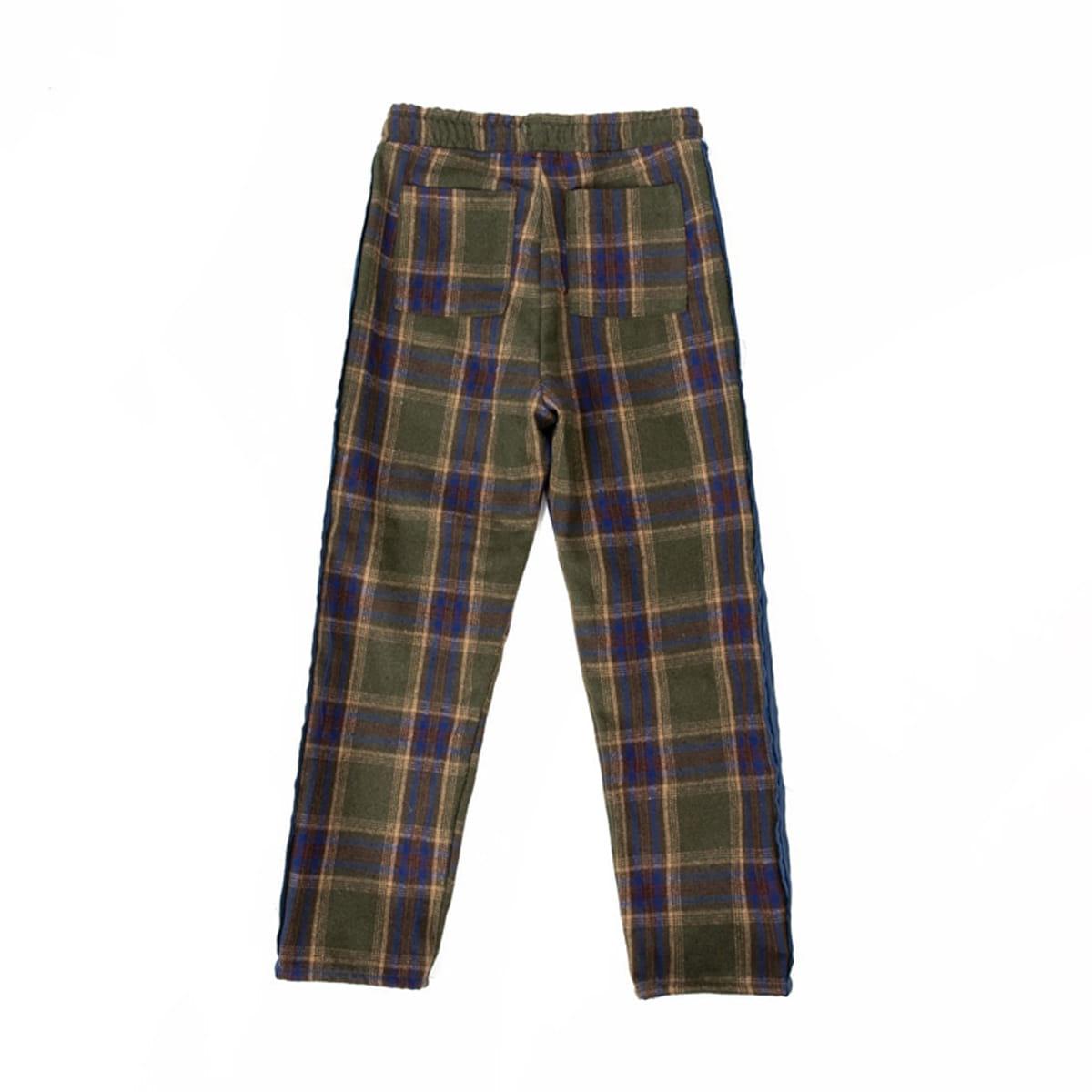 Cozy Check Pajamas (blue)