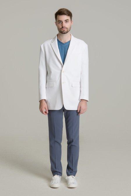 드롭 숄더 오버사이즈 랩 남성 재킷