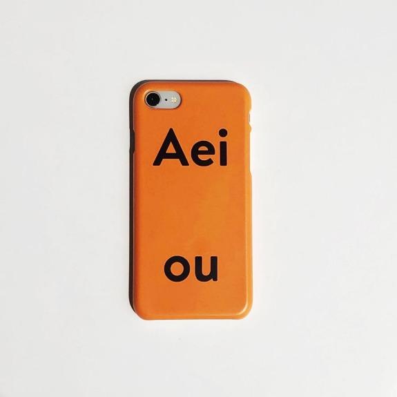 Aeiou Phone case Tangerine