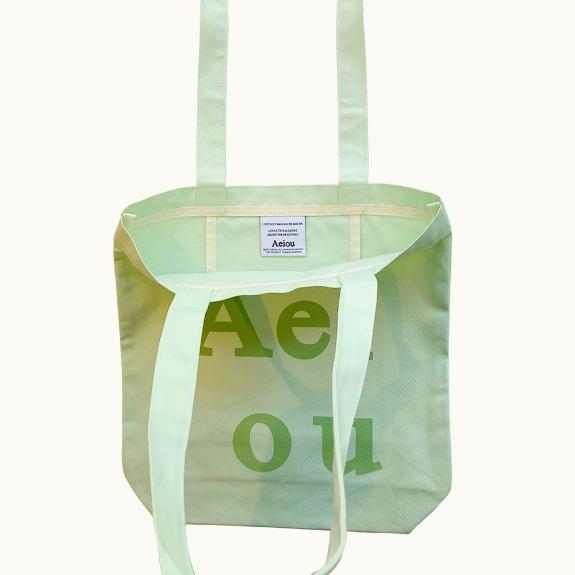 Aeiou Logo Bag (Cotton 100%)Avocado