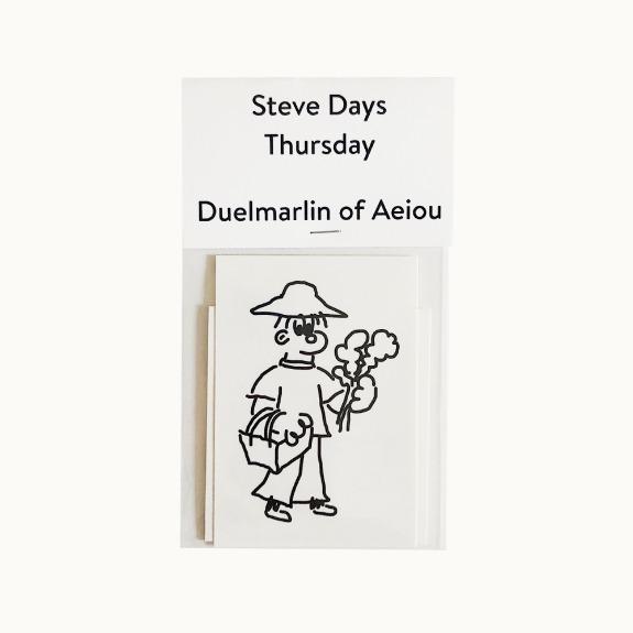 Steve Days Sticker / Thursday  5 set