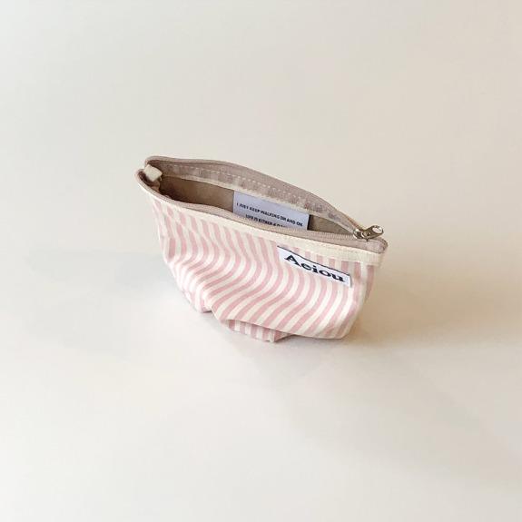 Aeiou Basic Pouch (M size) Village Pink