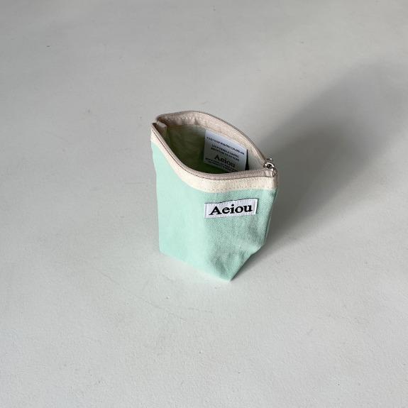 Aeiou Basic Pouch (M size)Shallow sea water
