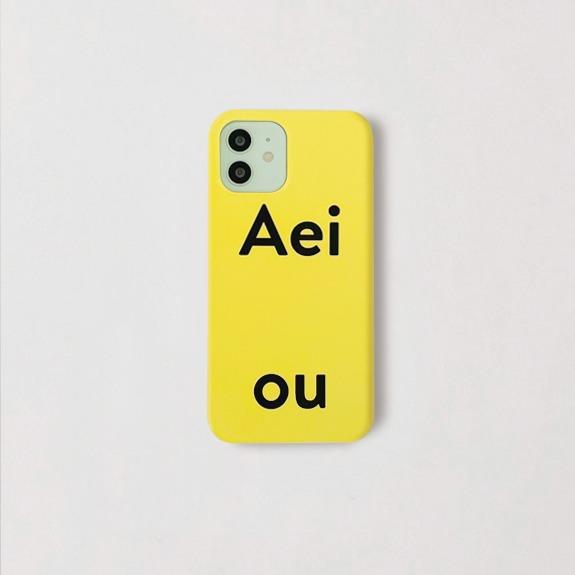 Aeiou Phone case Paprika yellow