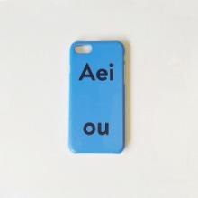 Aeiou Phone case Stockholm Blue