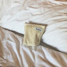 Aeiou Basic Pouch (M size)Popcorn Corduroy