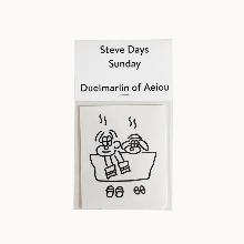 Steve Days Sticker / Sunday  5 set