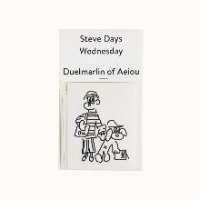 Steve Days Sticker / Wednesday  5 set