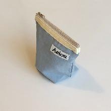 Aeiou Basic Pouch (M size)Vanilla Blue