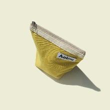 Aeiou Basic Pouch (M size)Mustard yellow