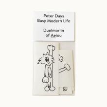 Peter Days Sticker  Busy Modern Life 5 set