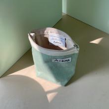 Aeiou Basic Pouch (M size) Baked Pistachio