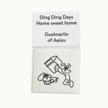 Ding Ding Days Sticker  Home sweet home 6 set