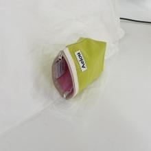 Aeiou Basic Pouch (M size) Guava green