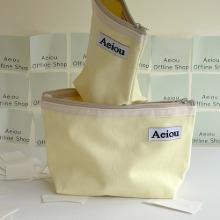 Aeiou Basic Pouch (L size) Lemon juice