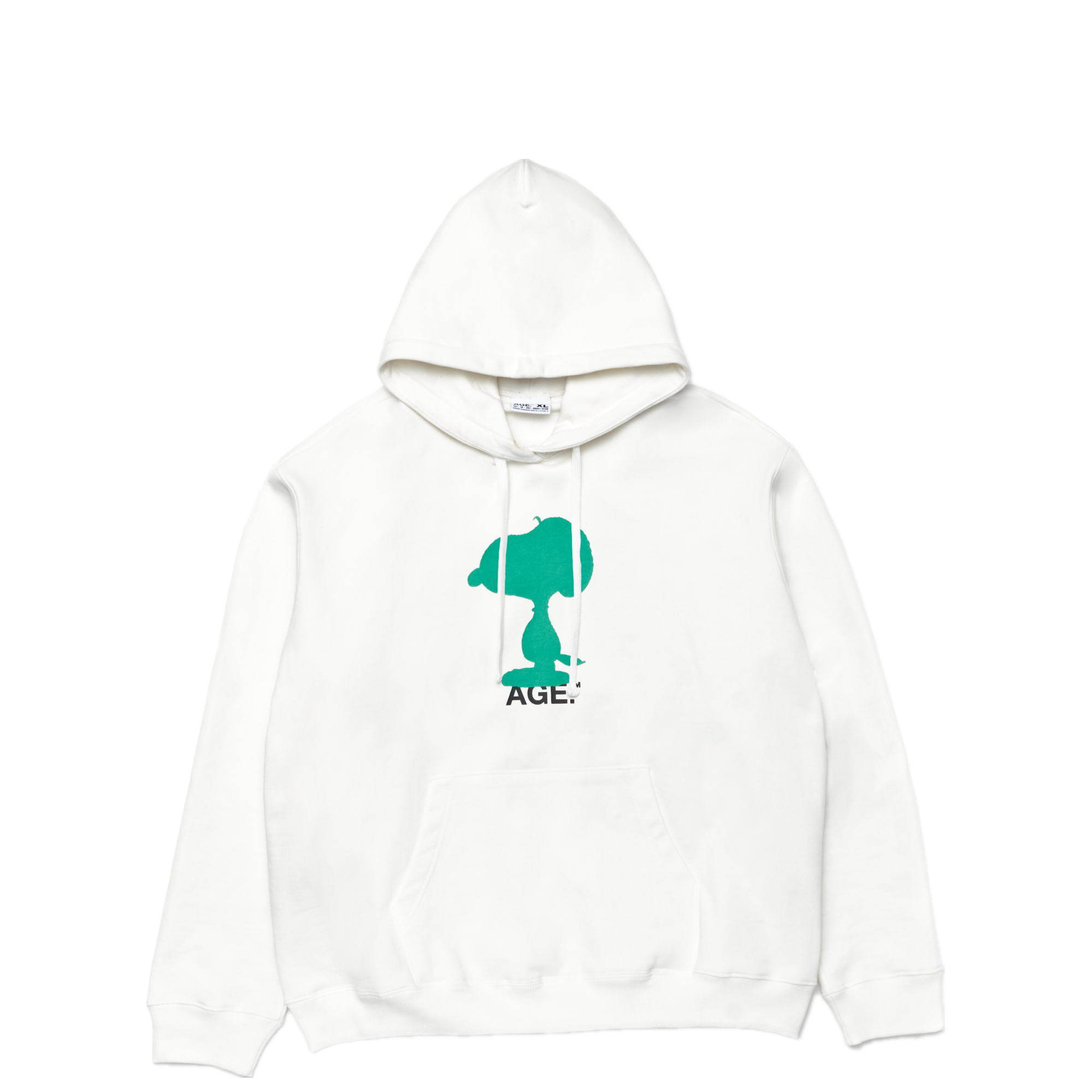 AGE X Snoopy Shadow Hooded WH/GN