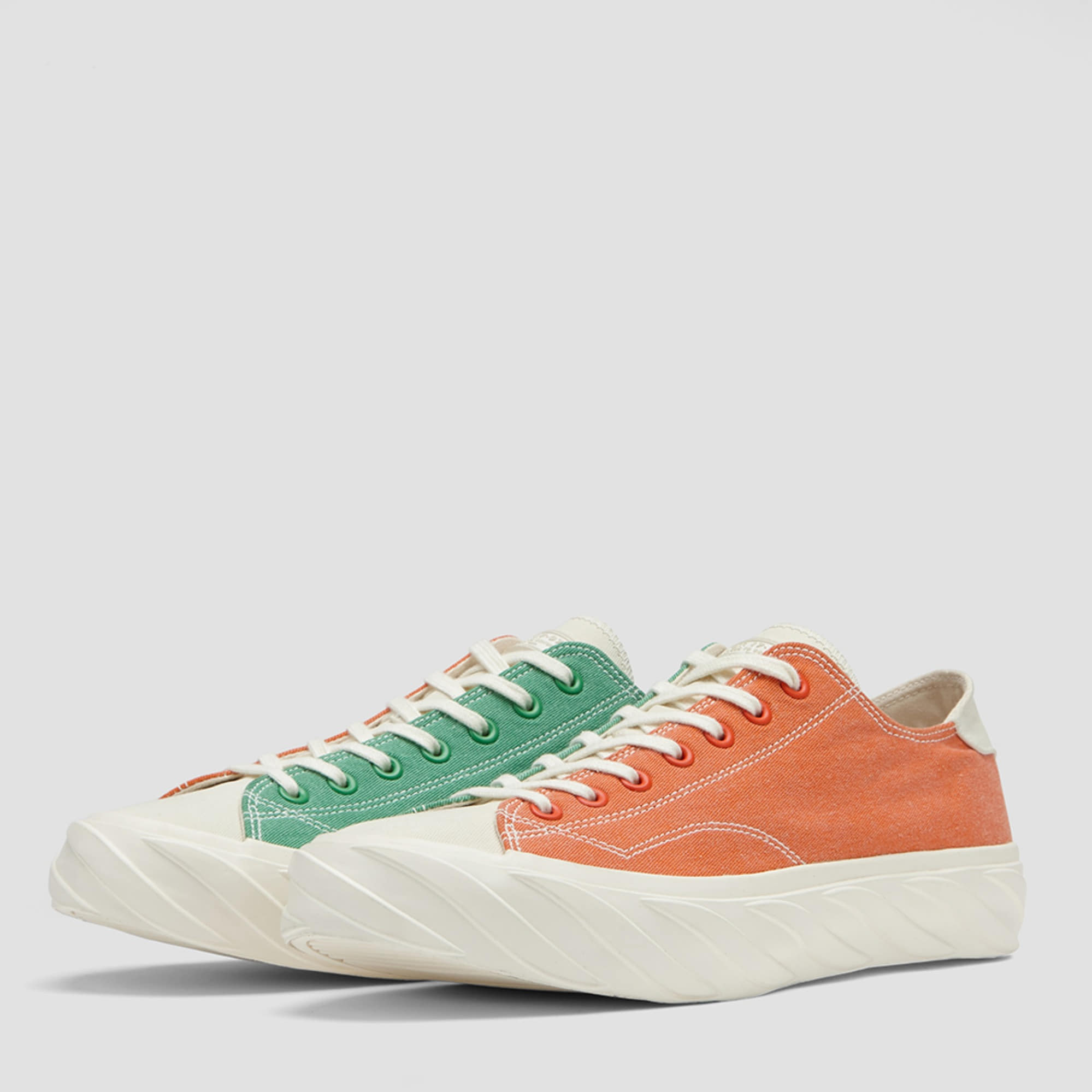 AGE CUT SNEAKERS CARROT