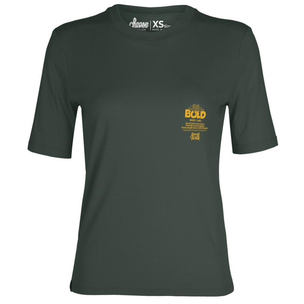 [치즈사이클링] 여성용 볼드 트레일 티셔츠 / 그린