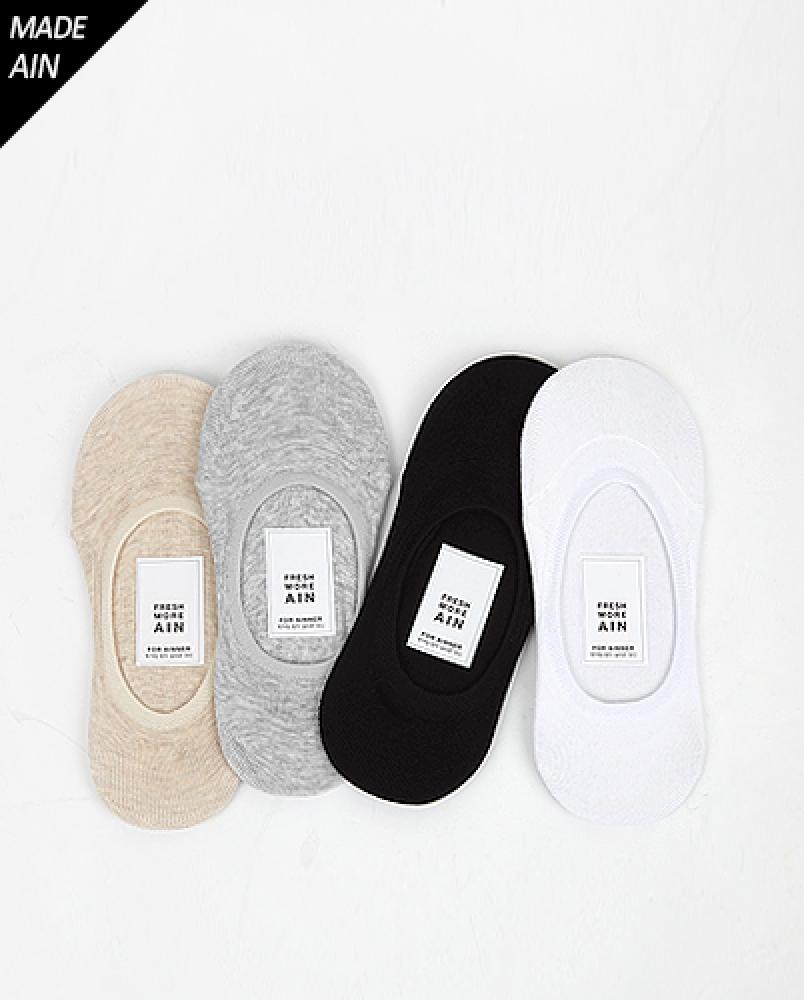FRESH A summer socks (4 colors)