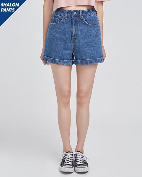 SHALOM highwaist short pants (2 colors)