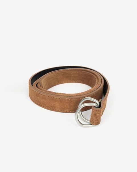 D-ling suede belt (3 colors)