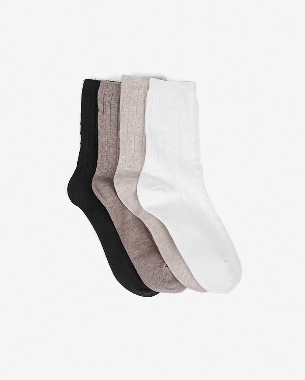 twist long socks