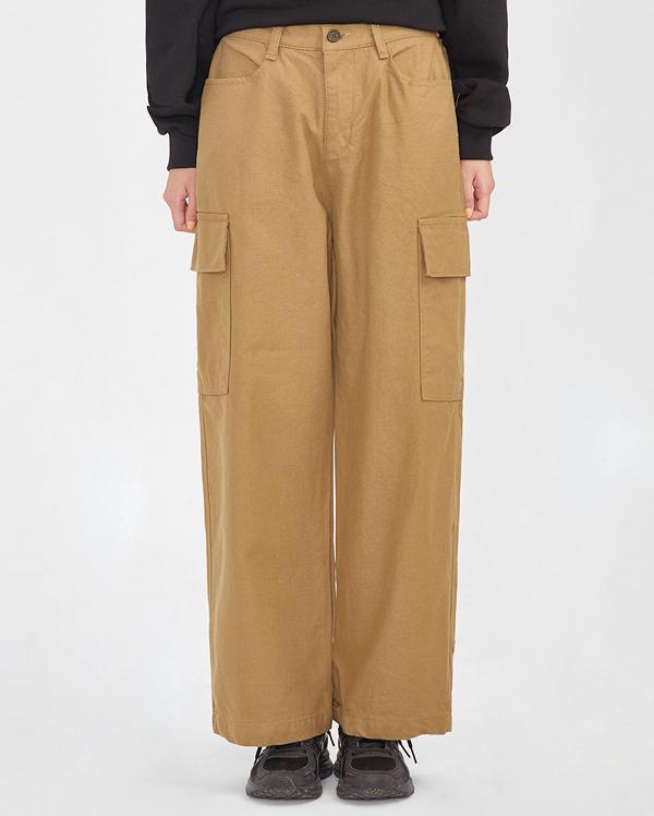 novelty pocket cotton pants