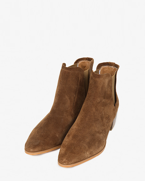 suede western boots (225-250)
