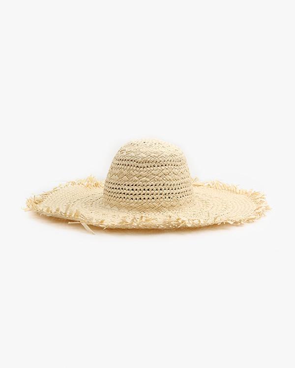 summer raffia straw hat