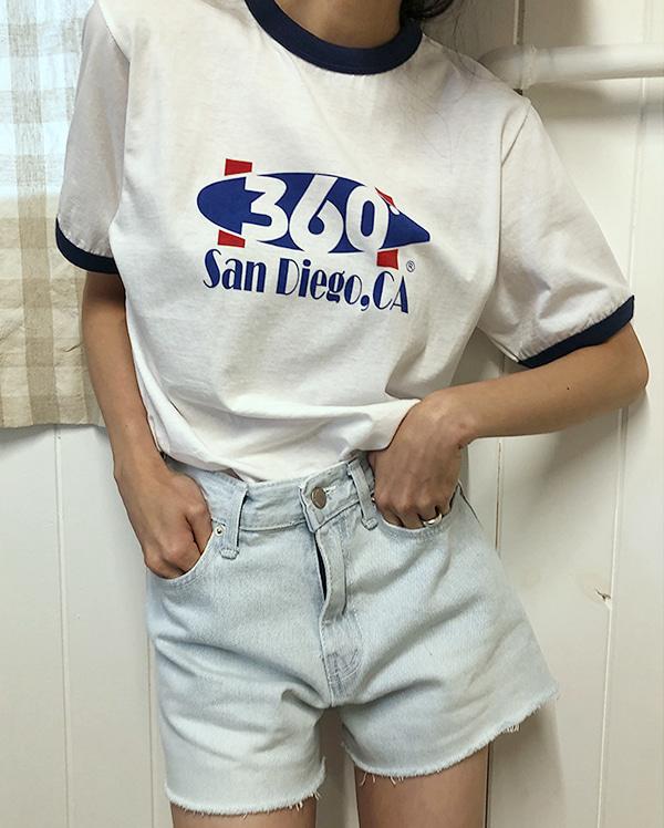 luv cutting short pants (s, m)