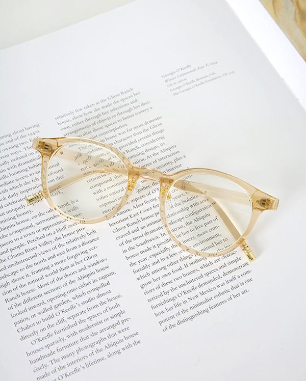 mone mood round glasses