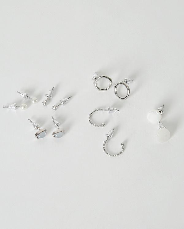 pearl jewelry earring set