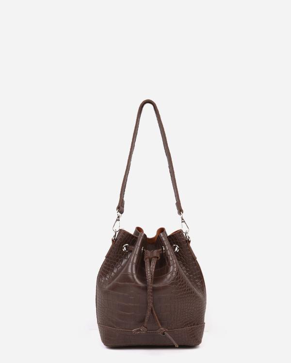 lucky shoulder tote bag