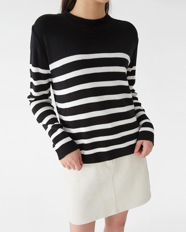 a cyclone stripe knit