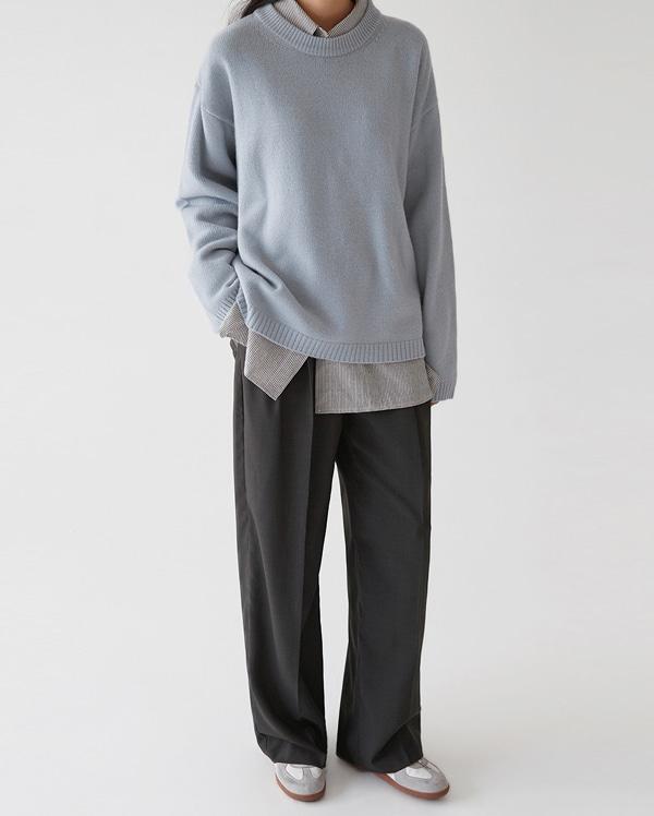 soft cream wool knit